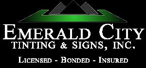 Emerald City Window Tinting & Signs, Inc.