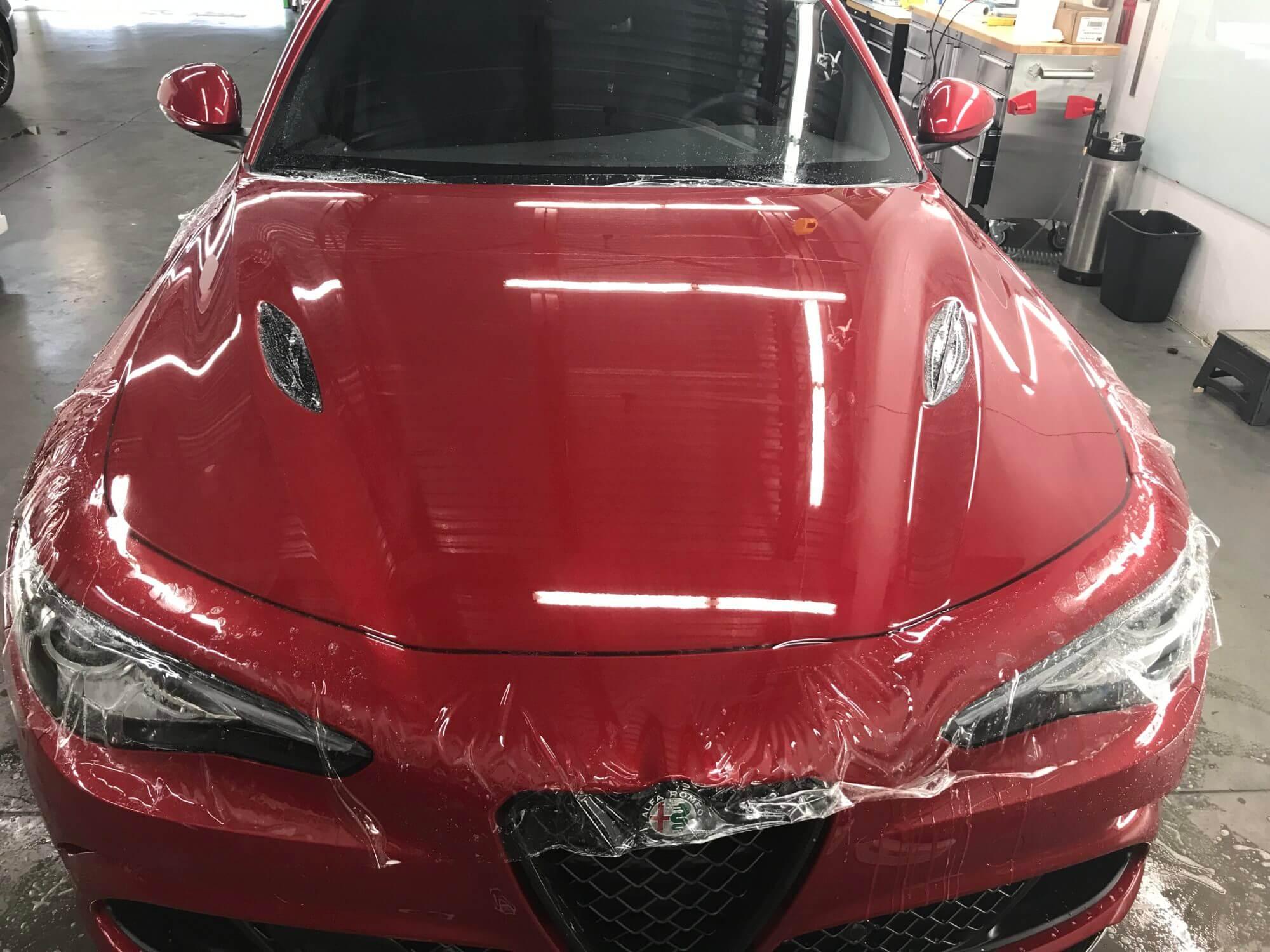 After Alfa Romeo Full Hood