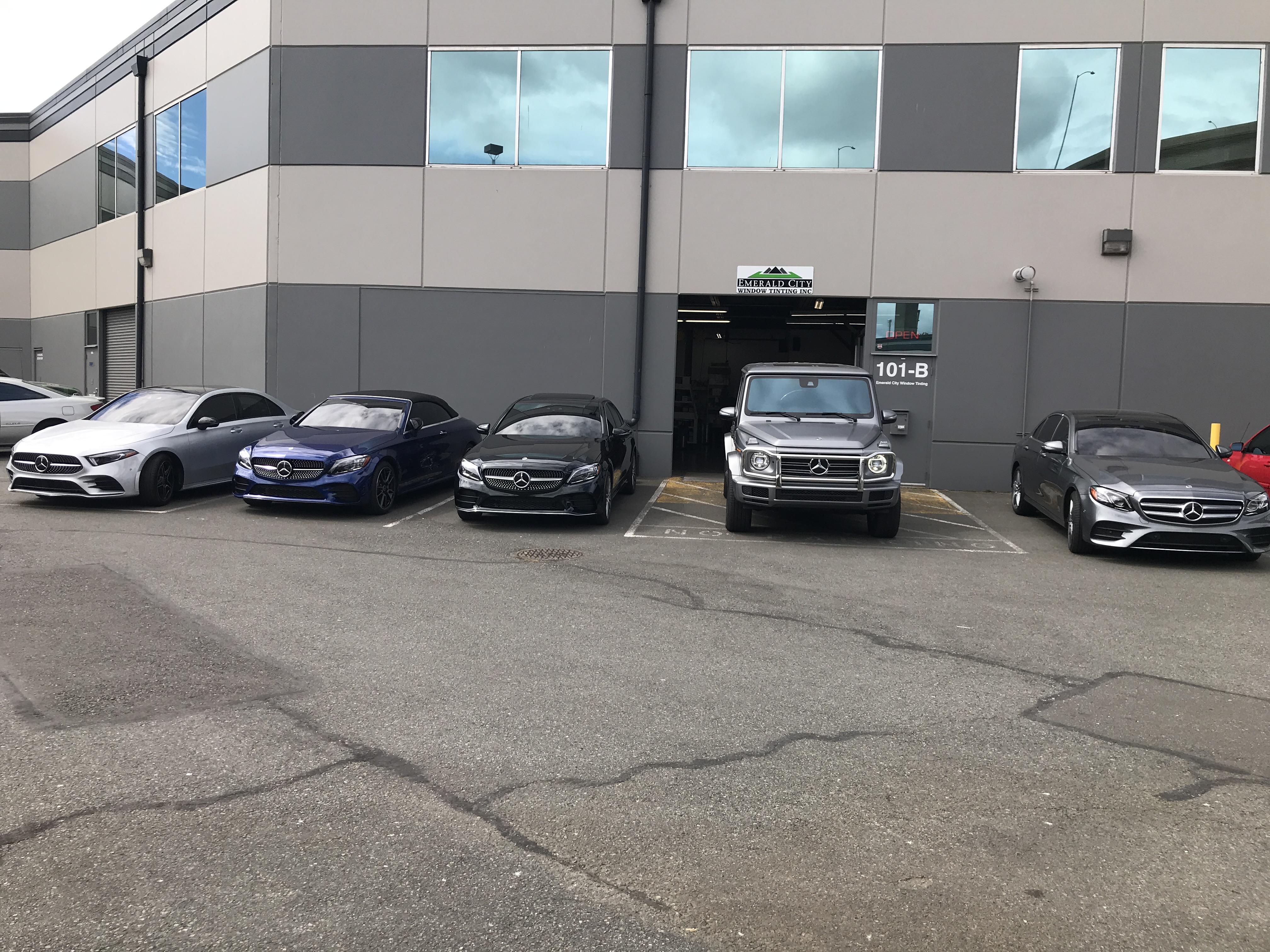 New Mercedes Lineup