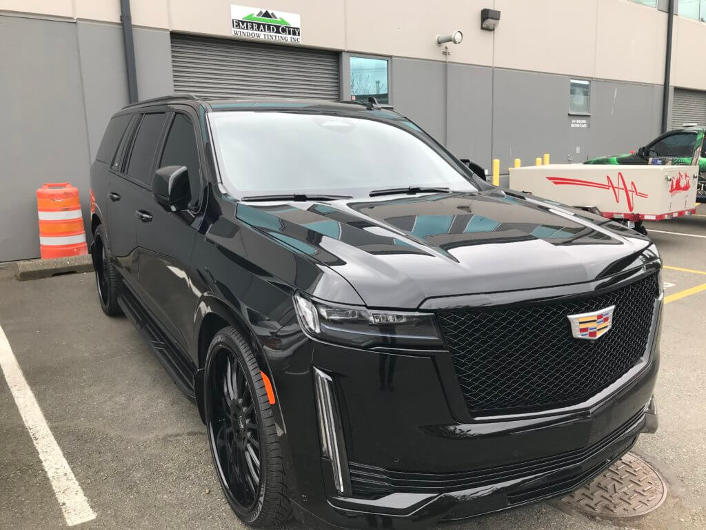 2021 Cadillac Escalade Truck - Clear Bra Protection with 3M Scotchgard Pro Series